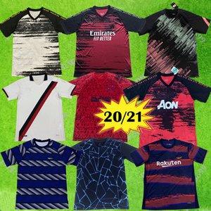 2020 2021 레알 마드리드 성인 축구는 20/21 이탈리아 로마 2020 맨체스터 축구 남자 도시 훈련 축구 유니폼을 운동복