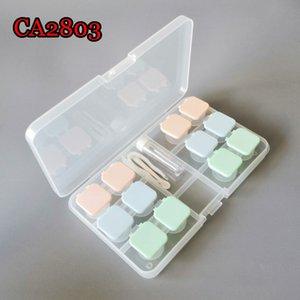 Schüler Box Nursing Glasses 6-pack Gelee Farben Flip unsichtbare Brille Farbfilm Pflegewasserkasten CA2803