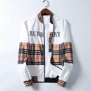 Yeni Moda Marka Ceket Erkekler Kış Sonbahar Slim Fit Mens Tasarımcısı Giyim 2020 Erkekler Rasgele Ceket İnce Artı boyutu M-3XL