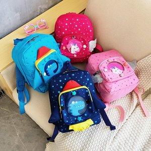 Cartoon sac de tong tong bao er enfants 2020 charge réduisant la mode ER bao enfants Sac à dos nouveau sac mignon de jardin d'enfants