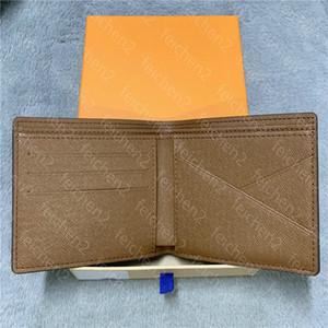 бумажники мужского walletd кошельков многоцветной монеты кредитной карта держатель сумка карман проворного короткий париж плед стиль человек из натуральной кожи с коробкой