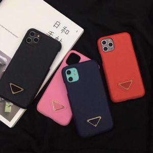 이탈리아 럭셔리 패션 클래식 로고 가죽 전화 PRD 커버를 들어 아이폰 (11)는 PROMAX XSMAX coque 아이폰은 7 8plus XR XS 11pro 케이스 6S