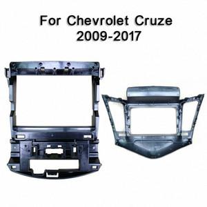 Для Cruze 2009 2010 2011 2017 автомобилей фасции навигации Рама Рама Даш Комплект для 9DVD игрока Тарелка Паш ободок Обрезка Комплект украшений для Ca Z7qF #