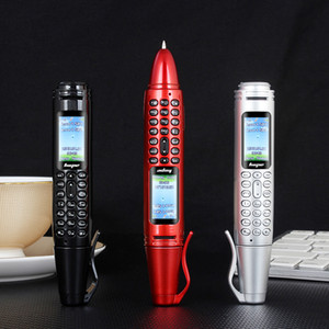 6 in 1 Multifunktions-Pen Handy tragbaren Mini-Taschen-Taschenlampe Stift Miniatur Bluetooth Dialer Mobil Unicom Backup kleines Handy