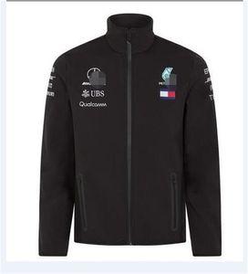F1 Explosivo Team Racing Jacket Jacket Jacket Outono / Inverno Car roupa de trabalho Cross-Country Running personalizado Fina Velvet Sweater