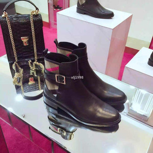 designer 2020ss Designers Women Luxury Short Boots Brand Fashion Leisure Shoes Leather Top Quality Spring Autumn Black Top Quality 9948CE