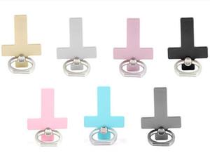 Universal 360 Degree Cross Finger Ring Holder Phone Holder Stand For Samsung Huawei Mobile Phones