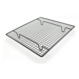 Stainless Steel Wire Grid Cooling Cake Food Rack Oven Safe Kitchen Baking Pizza Bread Barbecue Holder Shelf