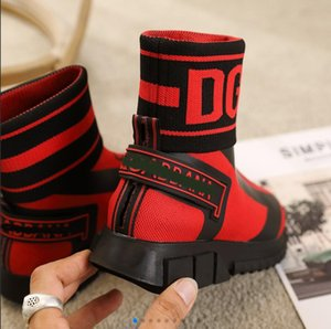 2020 New Speed Trainer Sock Fashion Shoes Lovers Triple Black Green Boots Red Flat Men Women Casual Shoes Sport Sneakers With Box Dust Bag