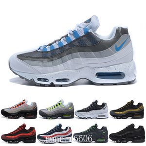 Best designers OG men's running shoes air gold Breed Gym red Laser Fuchsia green maxes white blue Classic Black Men sports shoes GH-5R