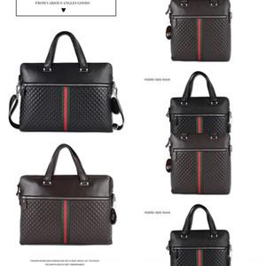 2020 Yeni hakiki deri erkek bilgisayar Hand for Hand ilk katman sığır derisi iş evrak çantası messenger çanta bilgisayar çantası