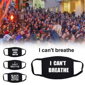 2020 Выборы Trump VS Байден Cotton маска I Cant Breathe Маски Black Lives Matter Face Анти Dust Модельер партии Маски для Мужчины Женщины