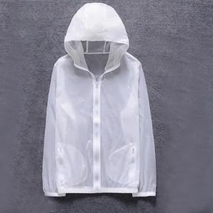 Litthing Homens New Verão Anti UV pele Jacket Outdoor Quick Dry Sun Protective revestimento encapuçado Ciclismo Viagem Windbreaker 2019 t8uG #