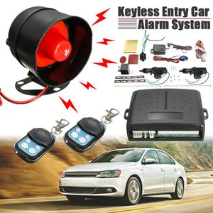 Universial Car Alarm Systems Car Auto Remote Central Kit Door Lock Locking Vehicle Keyless Entry System With Remote Controllers