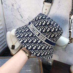 Cappello del progettista di marca Cotone Lettera di lusso In delle donne degli uomini pieghevole Secchio Caps pescatore Beach Sun Visor vendita pieghevole Man Cap BB327