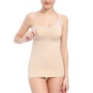 Lace Breastfeeding Vest-style Bra Breastfeeding Seamless Upper Open Buckle Pregnant Women Underwear