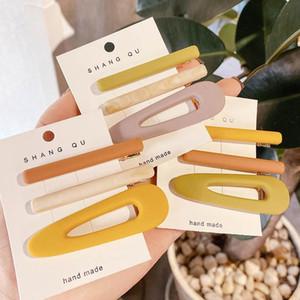 INS 3pcs set fashion women hair clips girls designer hair clips women barrettes hair accessories for women BB clip girls barrettes