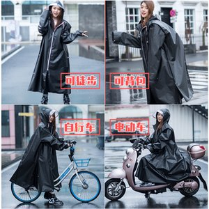 Waterproof Jacket Raincoat Women Poncho Long Ladies Hooded Raincoat Nylon Fashion Plastic Reusable Impermeable Mujer Rain Poncho