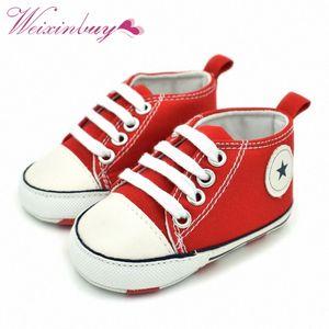 Tuval Beşik İlk Yürüyenler Ayakkabı Bebek Erkekler Kızlar Sneaker Prewalker 0-18M c0RM # Tollder Bebek Bebek Ayakkabı