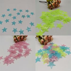 3cm étoiles lumineuses Stickers éclairage Sticker enfants Salle Chambre plafond Décor Glow In The Dark 0 93yy E2
