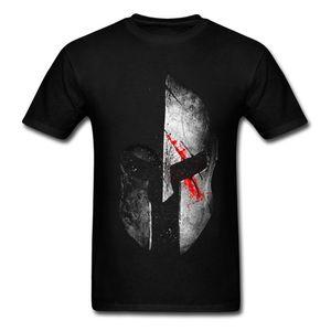 Fashion Molon Labe Spartan T-Shirt Men 3D T Shirt Cotton Tops Graphic Tees Heavy Metal Mask Tshirt Plus Size Black Clothing