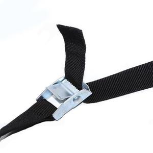 Zugbänder 1M Buckle Tie-Down-Gürtel Cargo-Straps für Auto-Motorrad-Fahrrad mit Metallschnalle Abschleppseil Starker Ratchet Gürtel qiang