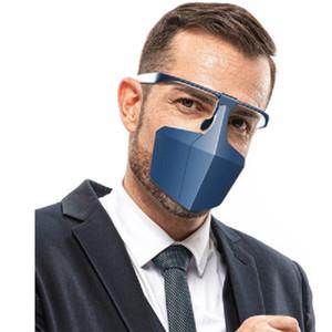 Anti-respingo Mask Face-Blindagem Rosto Protecção Anti-Fog Anti-Poeira Isolando face malha do equipamento de protecção máscaras boa qualit