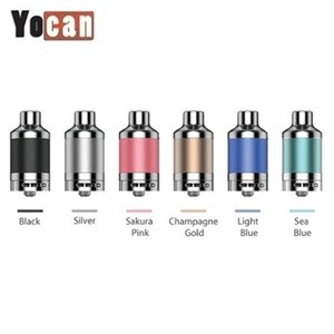 Authentic Yocan Evolve Plus XL Tank 6 Colors with with QUAD Coil E Cigarette Wax Vaporizer Vape Tank with Bottom Airflow