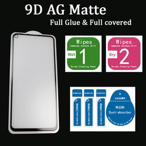 Schermo 9D completa Colla AG opaco vetro temperato protezione per HUAWEI P30lite / P20Pro / P30 / p40lite / MATE20lite // P40 opaco vetro temperato