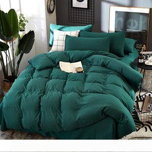 king size luxury bedding sets 4pcs set printing High Quality Bedding Set Bed Linings Duvet Cover Bed Sheet Pillowcases Cover Set