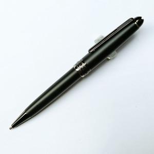 Precio al por mayor Meisterstck 163 Mate Black Ballpoint Pen Office Office Writing Writing Relabiling Bols para el Regalo de Negocio