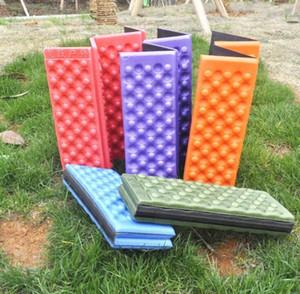 Soft Waterproof Dual Camping Hiking Picnic Portable Cushion Seat Pad Outdoor Folding Camping Moistureproof Cushion Mattress Pad 016