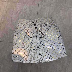 20ss tasarımcı işi Su geçirmez kumaş pist pantolon Yaz Plaj Pantolon Erkek Kurulu Şort Erkekler Surf Şort Swim Sandıklar Spor Şort