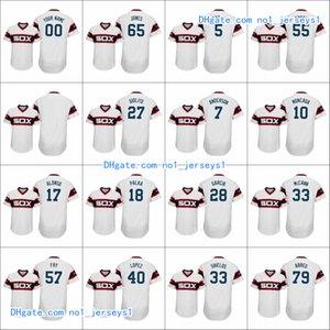 ChicagoWhite Sox Men # 79 Jose Abreu 10 Yoan Moncada 7 Tim Anderson Frauen Jugend Anniversary Alternate Gewohnheit Jersey