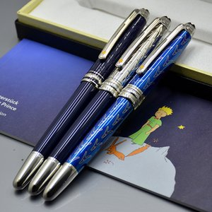 Luxury MB Branding Petit Prince series Rollerball pen Ballpoint pen Fountain pens Dark blue Writing office school supply with Serial Number