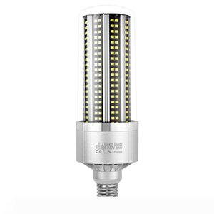 Big Power LED Lamp For Indoor Showroom 110V 220V Garage Lighting SMD2835 Super Bright Smart IC LED E27 Corn Bulb MS006
