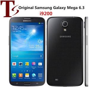 Reformierte Original Samsung Galaxy Mega 6.3 i9200 6.3' Dual Core 1,5 GB RAM 16 GB ROM 8MP 3G setzt intelligentes Handy