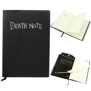 Death Note Notebook & Feather Anime Cosplay Pen Book Collectable Writing Journal