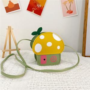 Le sac de tong er de messeng pour enfants bao er tong bao Wallet enfants 2020 nouveau mode mignon champignon princesse sac fille mini porte-monnaie