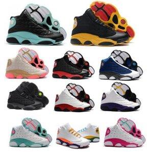 13 13s Баскетбол обувь Jumpman Flint Og Китайский Новый год Детская площадка Бред Чикаго Плей-офф XIII 2020 Остров Зеленый Мужчины Женщины Корзинки кроссовки