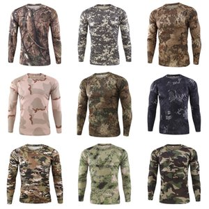 Heap -Shirts Army T Shirt Military Tshirt Style Tactical T-Shirt Urban Men'S Green For Men Cargo Uniform Short Sleeved Male Tee TShi#145