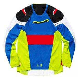 Ultra hafif esneklik ceket nem aşağı tilki Patlayıcı kros gömlek Dağ bisikleti uzun kollu tişört Jersey Bisikletçi takımı