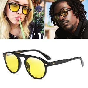 JackJad 2017 neue Art und Weise Weinlese-runde Art Tint Ozean-Objektiv-Sonnenbrille Männer Frauen Brand Design Sonnenbrillen Oculos De Sol 92106