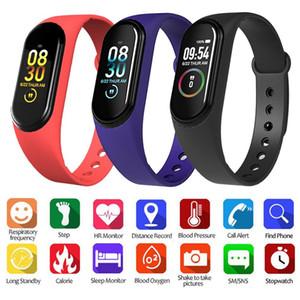 M4 Smart Bracelet Fitness Tracker PK Mi band 4 Fitbit Style Sport Smart Watch IP67 Waterproof Heart Rate Blood Pressure