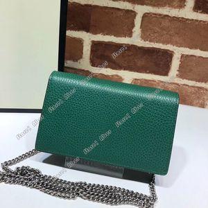 Aber New Umhängetasche Ketten Messenger Bag Solid Color Kette Schnalle Mode-Mädchen-beiläufige Handtasche Einfache Persönlichkeit miniSquare Frauen sacken