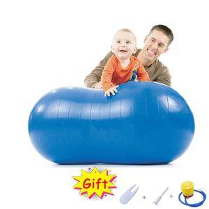 Sports Peanut Yoga Balls Pilates Gym Balance Fitness Pvc Exercise Explosion Proof Workout Massage Balls With Inflator Air Plug CXkYK