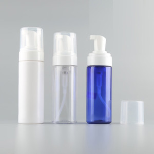 150ML 5oz Clear Plastic Foamer Liquid Soap Pump Bottle Travel Size Empty Mousse Foaming Soap Dispenser For Cosmetic Facial Cleanser