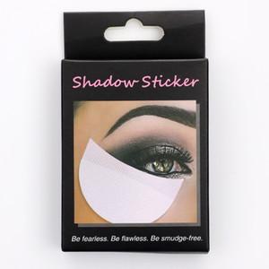 50 PC / caja de sombra de ojos Shields Calzos Parches para los ojos desechable sombra de ojos del maquillaje protector etiquetas JK2007KD