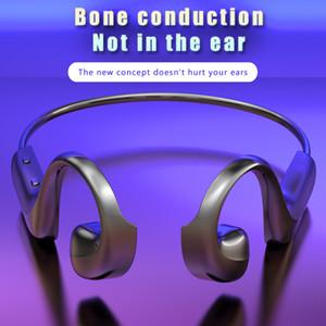 Kemik İletim Bluetooth Kulaklık IP68 su geçirmez Kablosuz Kulaklık 360 derece bükme HIFI Ses Kulaklık BLU 5.1 G100