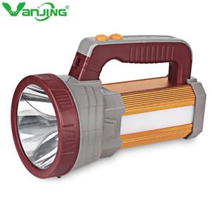 Reflector LED USB proyector recargable 15600mAh al aire libre portátil de mano de múltiples funciones de la antorcha de luz de camping